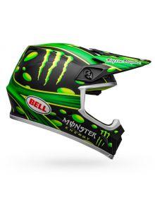 Bell MX-9 Mips Helmet Showtime Matte Black/Green