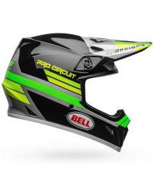 Bell MX-9 Mips Helmet Pro Circuit Black/Green