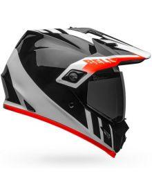 Bell MX-9 Adventure Mips Helmet Dash Black/White/Orange