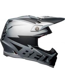 Bell 2021 Moto 9 Flex Helmet Brakaway Matte Silver/Black