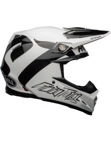 Bell 2021 Moto 9 Flex Helmet FastHouse Newhall White/Black