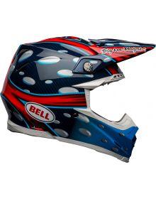 Bell 2021 Moto 9 Flex Helmet McGrath Blue/Red/Black