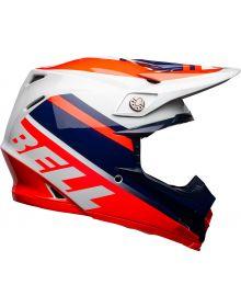 Bell 2021 Moto 9 Mips Helmet Prophecy Infrared/Navy/Gray