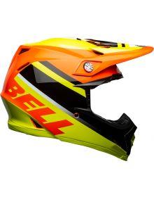 Bell 2021 Moto 9 Mips Helmet Prophecy Yellow/Orange/Black