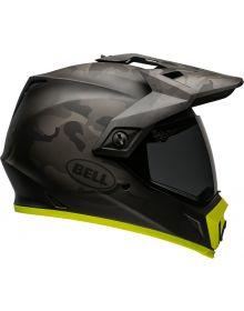 Bell 2021 MX-9 Adventure Mips Helmet Camo/Matte Black/Hi-Viz