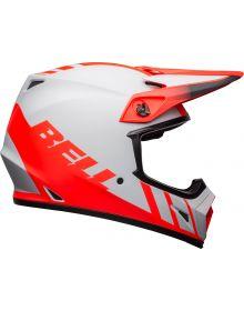 Bell 2021 MX-9 Mips Helmet Dash Matte Grey/Infrared/Black