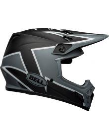 Bell 2021 MX-9 Mips Helmet Twitch Matte Black/Gray/White