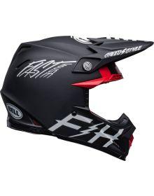 Bell Moto-9S Flex Fasthouse Tribe Helmet Matte/Gloss Black/White
