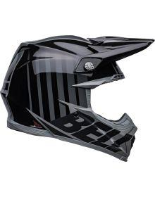 Bell Moto-9S Flex Sprint Helmet Matte/Gloss Black/Gray