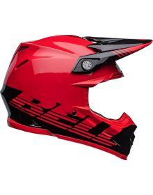 Bell Moto-9 MIPS Louver Helmet Black/Red