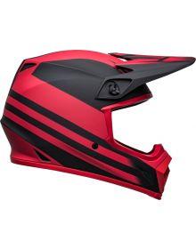 Bell Moto-9 MIPS Disrupt Helmet Matte Black/Red
