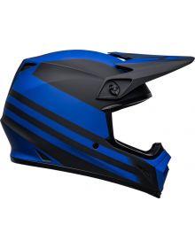 Bell Moto-9 MIPS Disrupt Helmet Matte Black/Blue