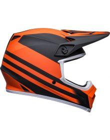 Bell Moto-9 MIPS Disrupt Helmet Matte Black/Orange
