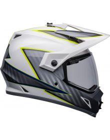 Bell MX-9 ADV MIPS Dalton Helmet White/Hiviz Yellow