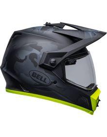 Bell MX-9 ADV MIPS Stealth Helmet Mat Camo Black/Hi Viz
