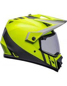 Bell MX-9 ADV MIPS Dash Helmet Hiviz Yellow/Gray
