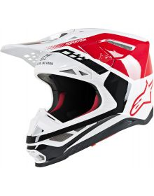 Alpinestars M-8 Helmet Red/White