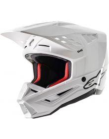 Alpinestars SM5 Solid Helmet White