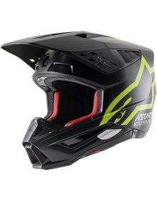 Alpinestars SM5 Compass Helmet Matte Black/Fluorecent Yellow