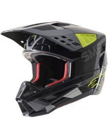 Alpinestars SM5 Rover Helmet Anthracite/Fluorescent Yellow/Camo