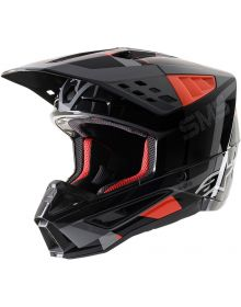Alpinestars SM5 Rover Helmet Anthracite/Fluorescent Red/Gray Camo