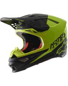 Alpinestars M-8 Helmet Black/Fluo Yellow