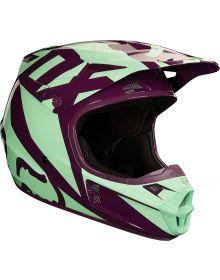 Fox Racing 2018 V1 Race Helmet Green
