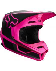 Fox Racing 2019 V1 Helmet PRZM Black/Pink