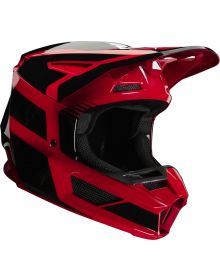 Fox Racing 2020 V2 Hayl Helmet Flame Red