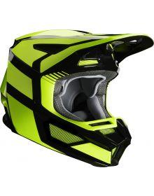 Fox Racing 2020 V2 Hayl Helmet Fluorescent Yellow