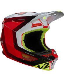 Fox Racing V2 Voke Helmet Flo Red