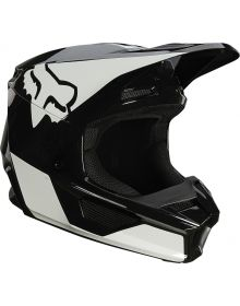 Fox Racing V1 Revn Helmet Black/White