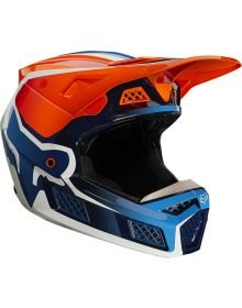 Fox Racing V3 RS Wired Helmet Flo Orange