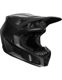 Fox Racing V3 RS Wired Helmet Matte Black