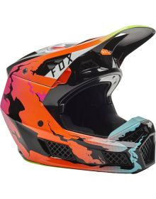 Fox Racing V3 RS Helmet Pyre Multi