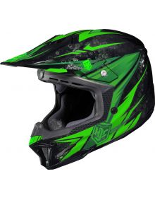 HJC CL-X7 Helmet Pop N Lock Neon Green