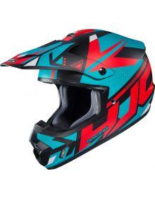HJC CS-MX II Madax Helmet Turquoise/Red