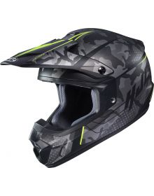 HJC CS-MX Sapir Helmet Camo/Lime Green