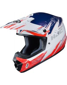 HJC CS-MX2 Krypt Helmet White/Orange/Blue