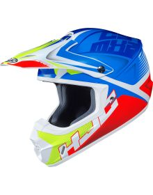 HJC CS-MX2 Ellusion Helmet Blue/Hi Vis/Orange