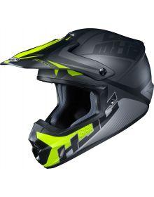 HJC CS-MX2 Ellusion Helmet Black/Hi Vis