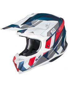 HJC i50 Vanish Helmet White/Blue/Red