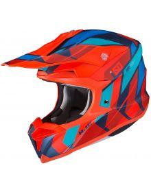 HJC i50 Vanish Helmet Red/Blue/Light Blue