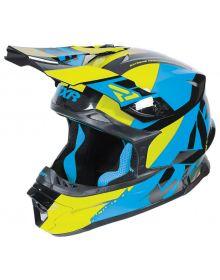 FXR 2017 Blade Revo MX Helmet Hi-Vis/Blue/Black