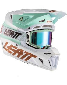 Leatt Moto 8.5 V21.1 Helmet Kit Composite (DOT+ECE) includes 5.5 Iriz Royal Blue