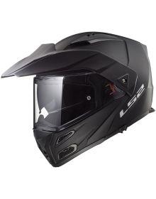 LS2 Helmets Metro V3 Modular Helmet Matte Black