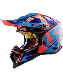 LS2 Helmets Subverter Helmet Nimble Black/Blue/Orange