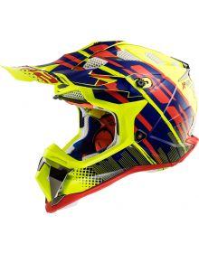LS2 Helmets Subverter Helmet Bomber Hi-Vis Yellow