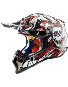 LS2 Helmets Subverter Helmet Voodoo Black/White/Red