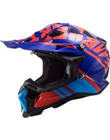 LS2 Subverter EVO Gammax Helmet Red/Blue